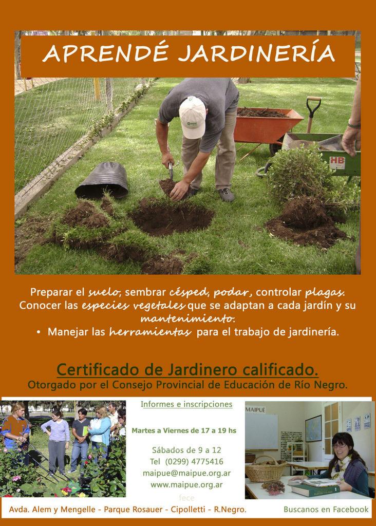 Ya est nuevamente abierta la inscripci n a la - Tareas de jardineria ...